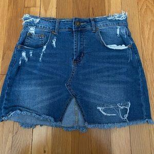 Dresses & Skirts - Jean Mini skirt
